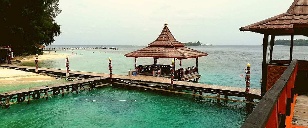resort wisata pulau sepa