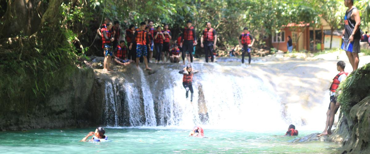 wisata body rafting green valley citumang
