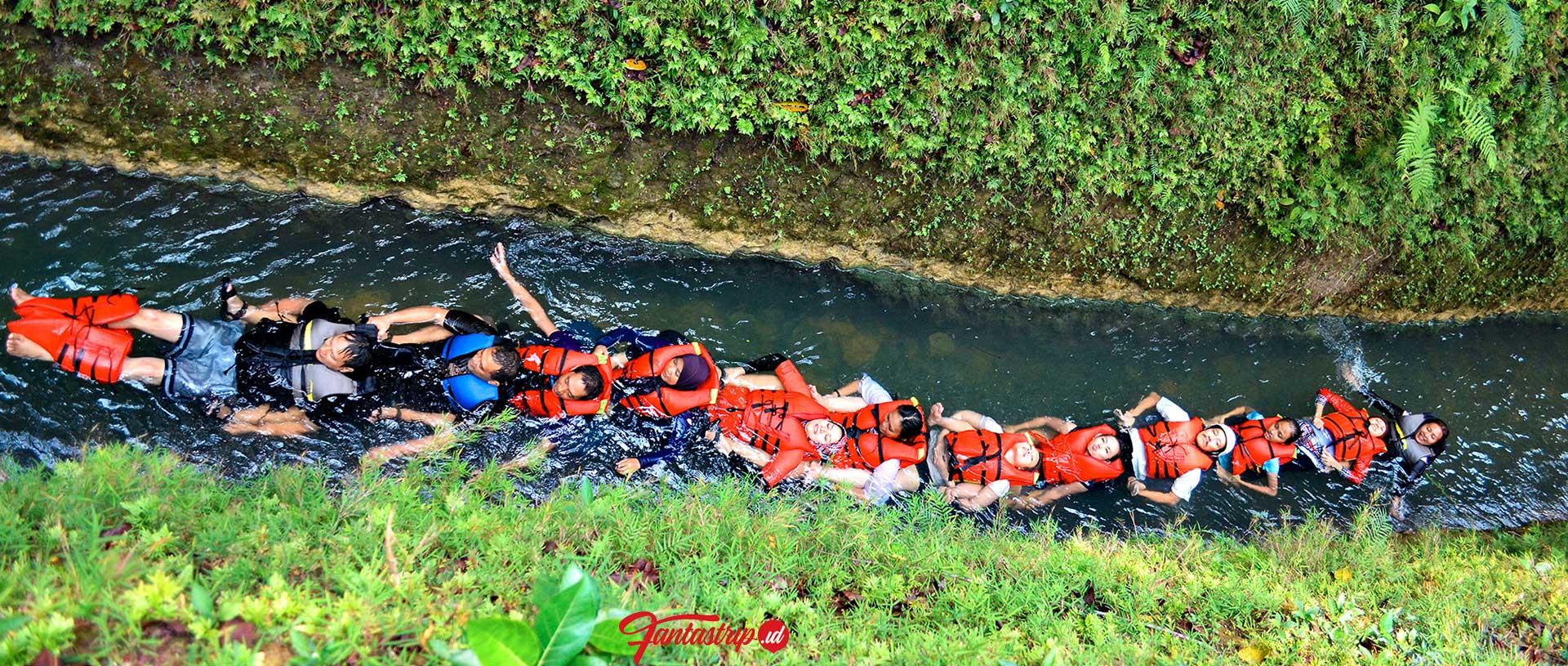 aktivitas body rafting pangandaran citumang green valley