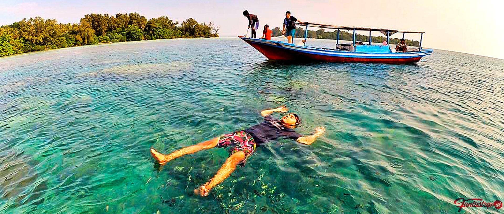 jelajah pulau dan snorkeling pulau pari